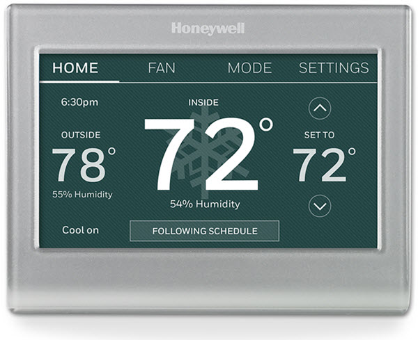Wi-Fi Smart Color Thermostat (RTH9585WF)