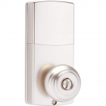 Honeywell Bluetooth Enabled Digital Door Knob Lock With Keypad, Satin Nickel, 8832301S